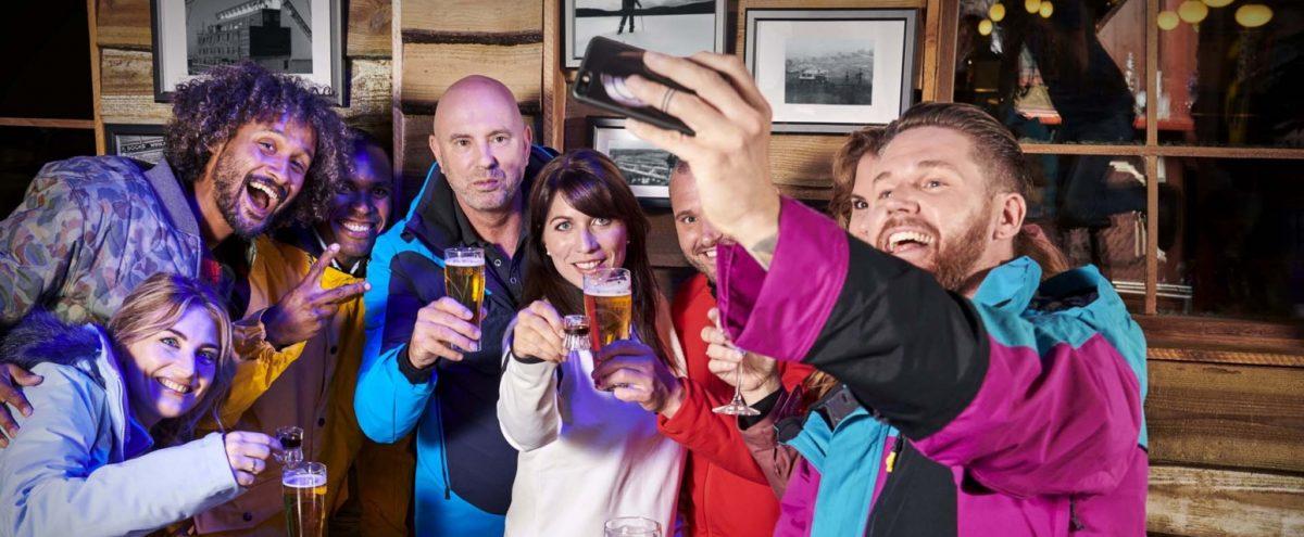 biertje doen op vrijgezellenfeest